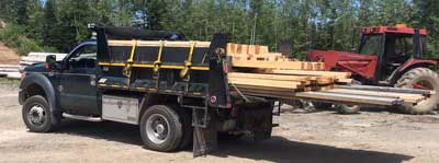 Lumber Delivery Moncton