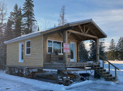 Rough Lumber Cabin for Sale